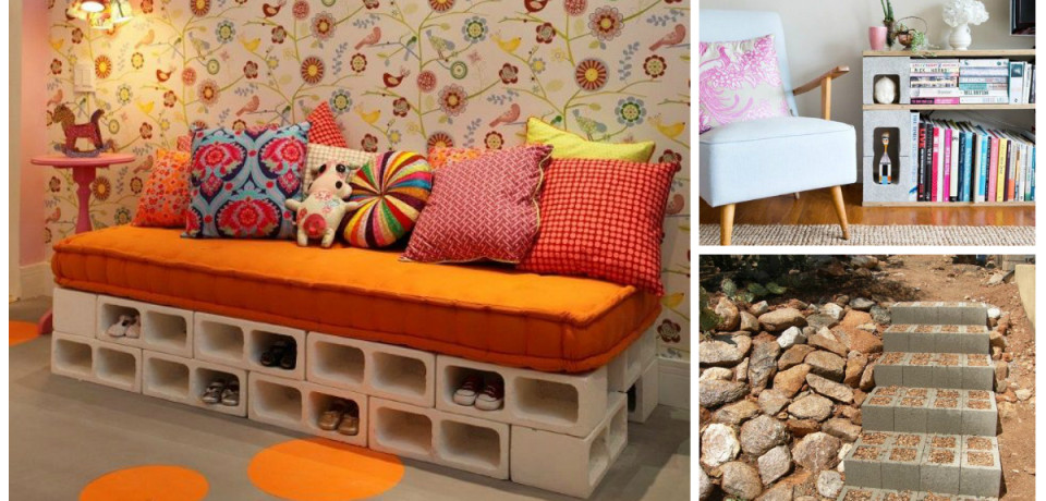 Amazing Uses Of Concrete Blocks In Your Home And Garden