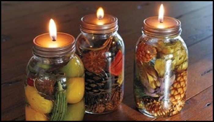 How To Make Your Own Scented Mason Jar Candles