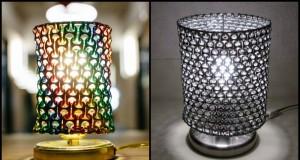 Soda Pop Tab Lamp Shade