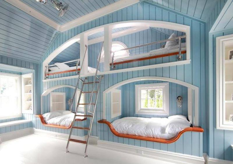 Top 30 Most Beautiful Bunk Beds