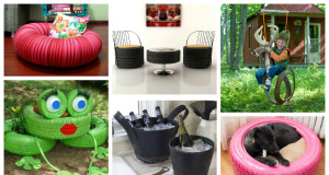 21 Brilliant Ideas For Reusing Old Tires