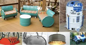 21 Gallon Metal Drum Project Ideas