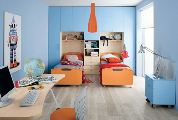 Lovely Storage Solutions for Your Kids Room