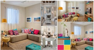 Spread Colors and Life in Your Neutral Living Room