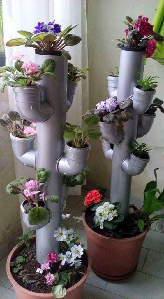 Bright and Creative DIY PVC Pipes Solutions for Your Home 11