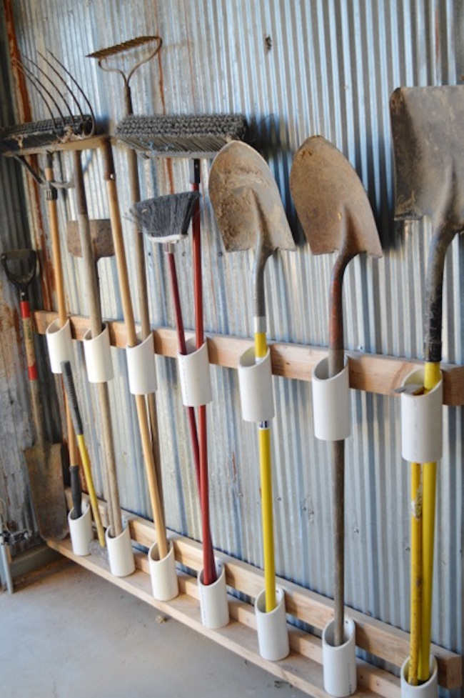 Bright and Creative DIY PVC Pipes Solutions for Your Home 15