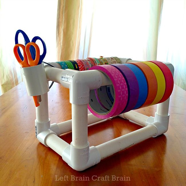 Bright and Creative DIY PVC Pipes Solutions for Your Home 5