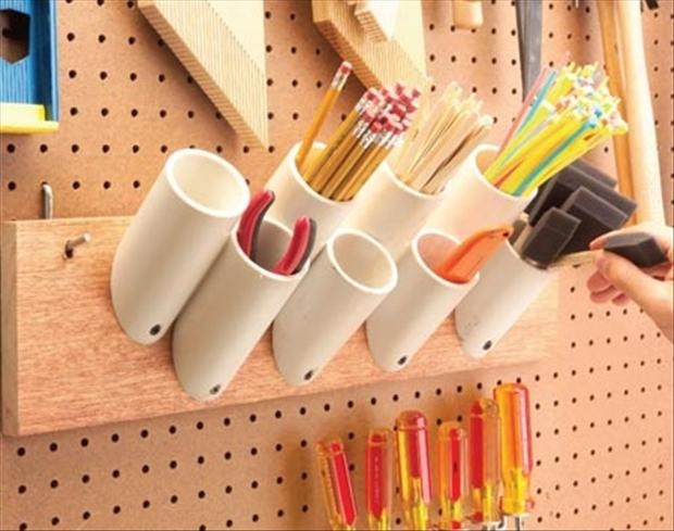 Bright and Creative DIY PVC Pipes Solutions for Your Home 6