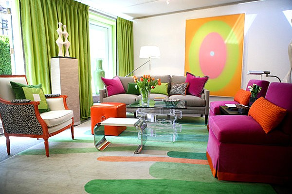 Modern Neon Interior Designs