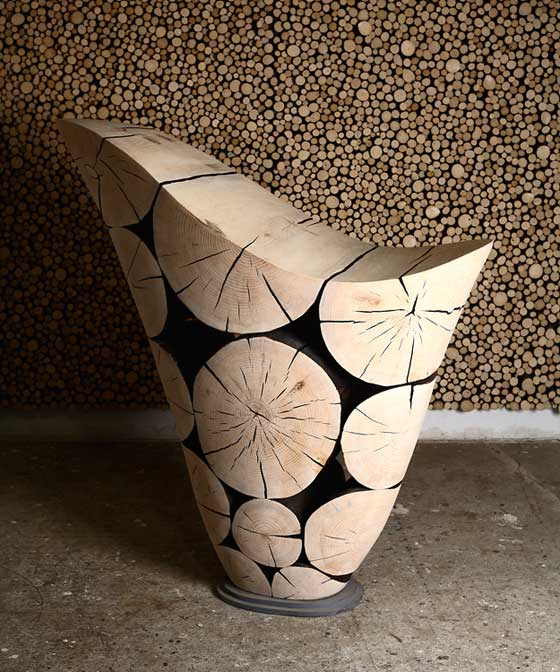 The Geometric Wooden Furniture Is The Latest Home Trend