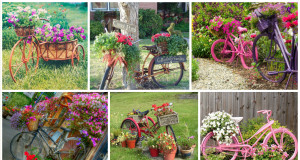 12 Old Bicycles For Smart Garden Decoration