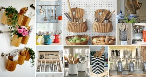 20 Creative Ideas Of How to Organize Your Kitchen Utensils