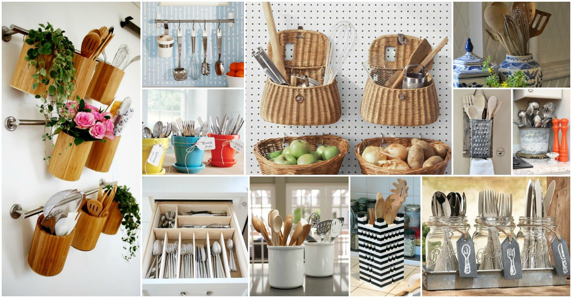 20 Creative Ideas Of How to Organize Your Kitchen Utensils ...