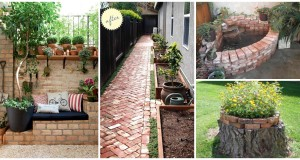 10 Brilliant Ideas to Decorate Your Yard With Bricks