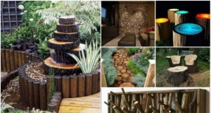 12 DIY Inspired Ideas For Reusing Old Tree Stumps, Logs and Trunks 4