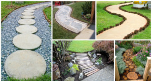 13 DIY Garden Pathway-Inspiration For All Garden Lovers