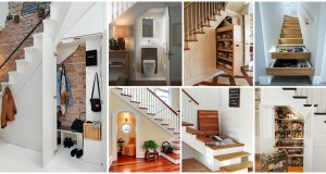10 Genius Ways to Use the Space Under the Stairs