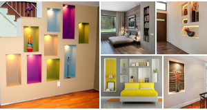 12 Fine Ways How To Design Built in Wall Niches