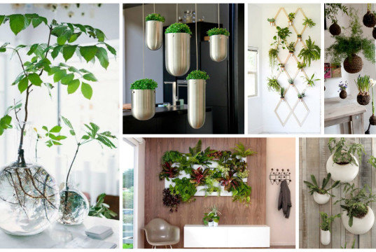 14 Fresh Mini Indoor Gardens That Will Surprise You