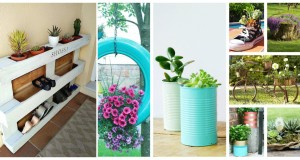Wonderful Creative Garden Container Ideas