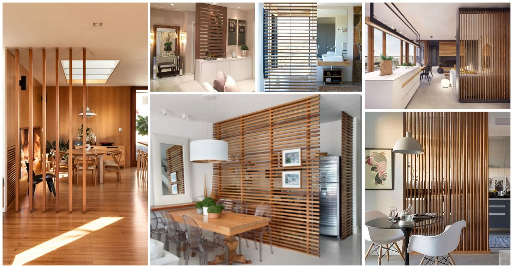 10 Wooden Room Dividers For Elegant Home Interior Ideas
