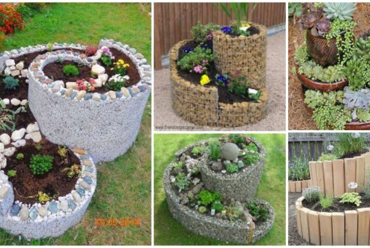 Wow!!! You Need to See These Spiral Gardens!