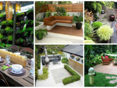 15 Wonderful Ideas How To Organize A Pretty Small Garden Space
