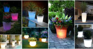 Solar Powered Pots That Will Brighten Up Your Garden