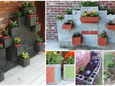 10 Impressive Cinder Block Gardens that will Take Your Breath Away