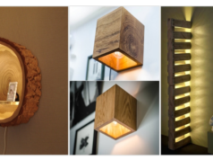 Creative and Unique DIY Wall Lamps