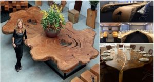 15 Amazing Artistic Wooden Table Designs!