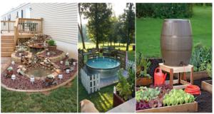 Amazing DIY Backyard Ideas on a Budget