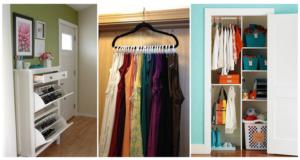Closet Organizing Ideas Combat the Closet Clutter