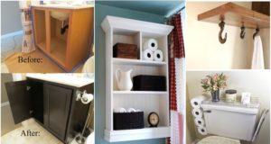 Top 10 Best DIY Bathroom Projects