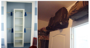 Ways to Squeeze a Little Extra Storage Out of a Small Closet