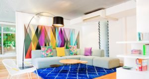 Eye-Catching Rooms with High Contrast