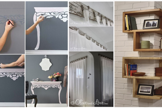 10 DIY Projects to Make Your Home Look Classy