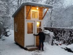13-Year-Old Build His Own Mini-House in His Backyard, Look Inside and be Impressed