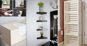 Easy DIY Storage Ideas for Charming Bathroom Decor