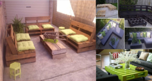 Recycled Wood Pallet Decoration and Functionality