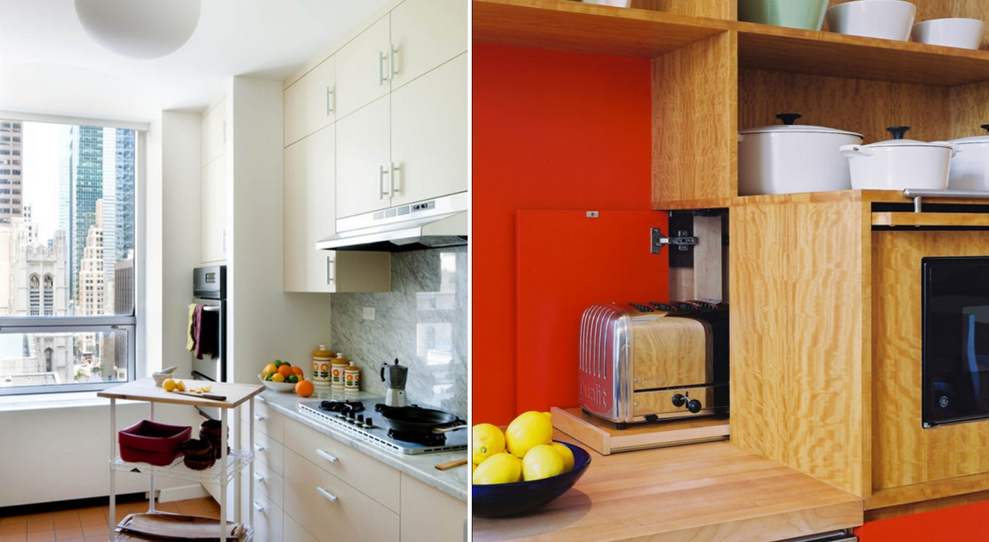 10 clever kitchen storage ideas you haven 39 t thought of for Clever kitchen storage ideas