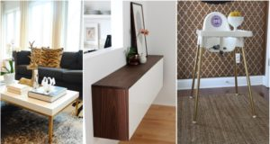 10 IKEA Hacks Get High-End Looks at A Low Cost