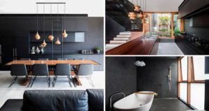 Amazing Carter Williamson Architects Used Black To Give This Interior A Bold Appearance