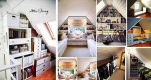 The Top 10 Attic Storage Ideas